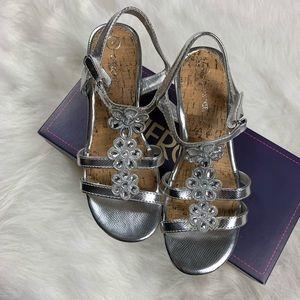 Cherokee Girl's Hallie Wedge Sandals